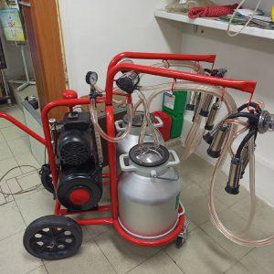 Доильный аппарат с двумя бидонами