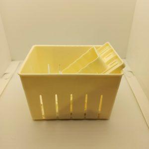 Форма для сыра с прессом 140*110*95mm